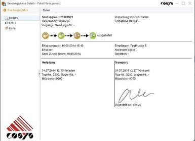 Tourenplanung Transport Software