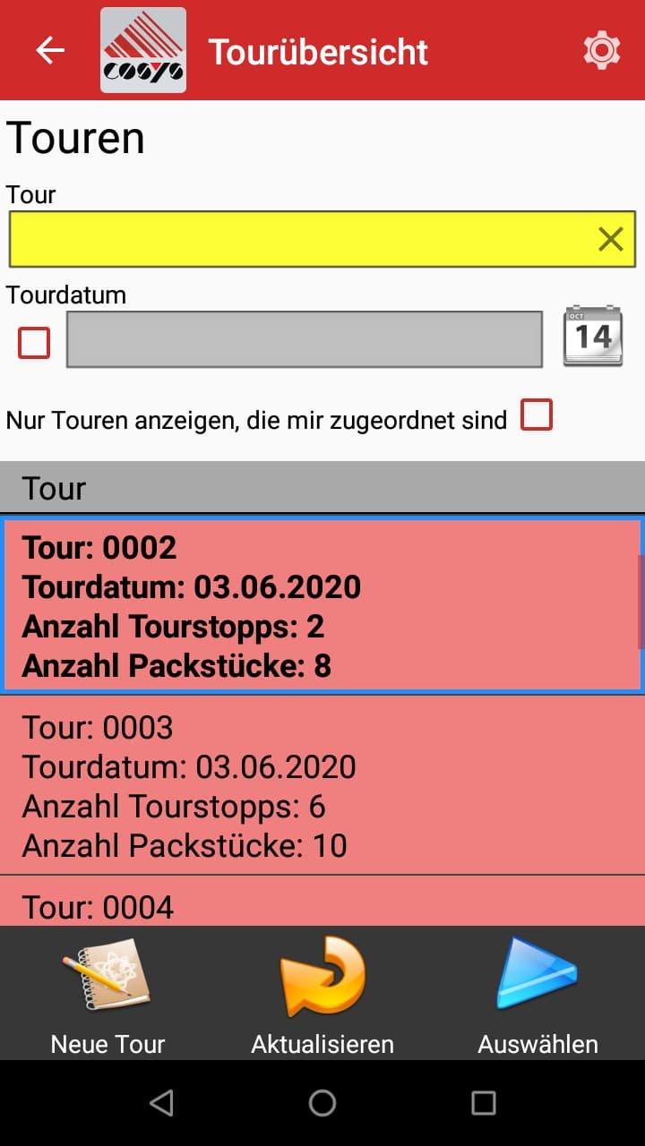 Tourenplanung Transport & Logistik