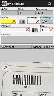 caVio ERP Lösung mit COSYS Inventursoftware