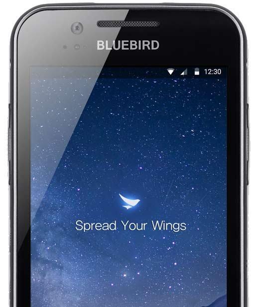 Bluebird EF500 MDE Gerät