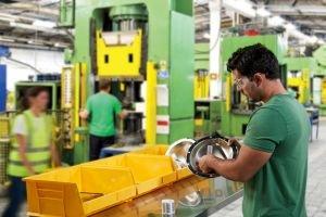 Maschinenbau und Anlagenbau Kanban Software