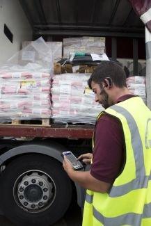 Belieferung von Baustellen Sanitärgroßhandel und Baustoffhandel