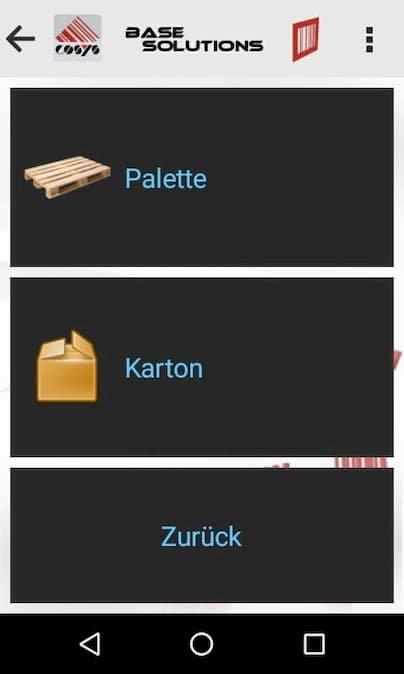 Arrival Auswahl Verpackungseinheit