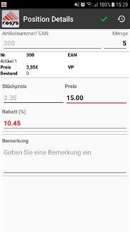 Online Order Nachbestellung Lager Schraubenhandel / Schraubenhersteller Branche Software