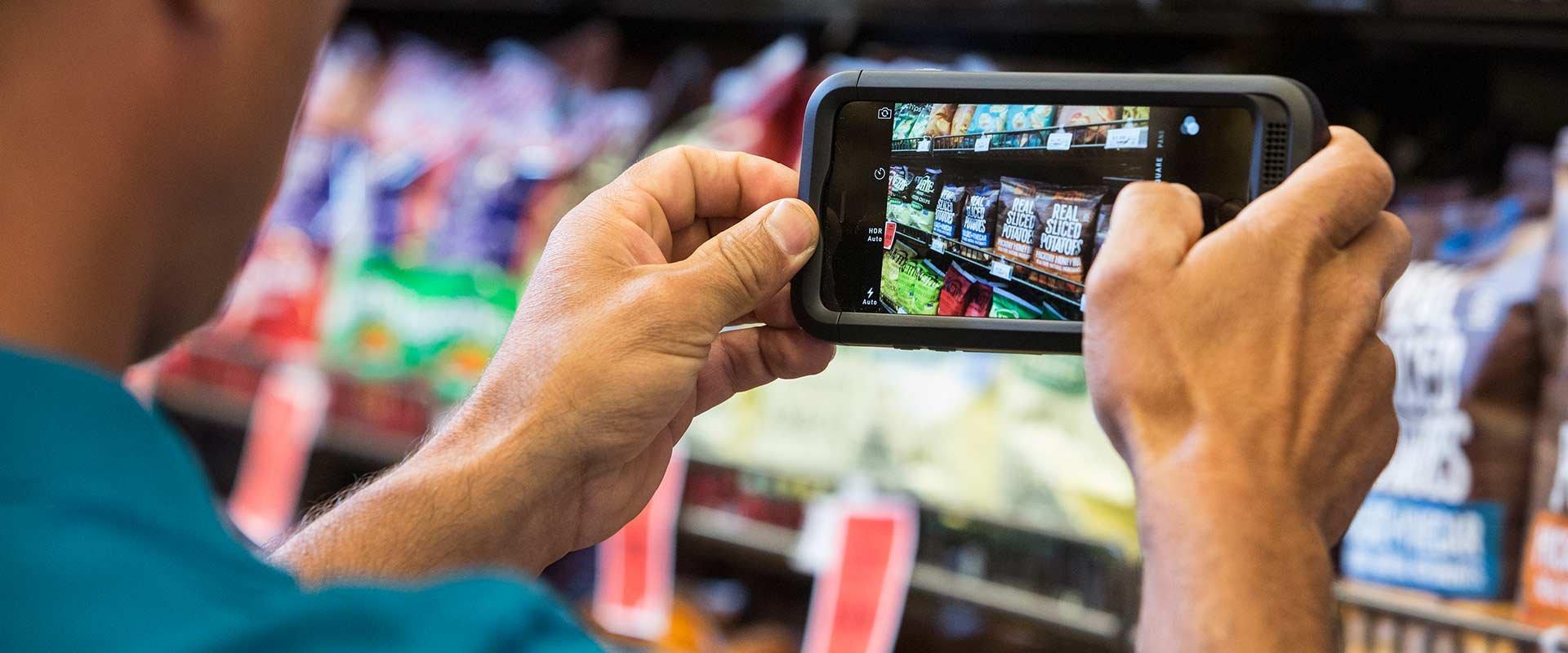 Einzelhandel Software Module mobile Datenerfassung