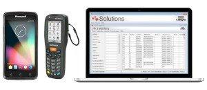 Inventur Einzelhandel Software Hardware Softwarelösung COSYS mobile Datenerfassung Barcode Scan