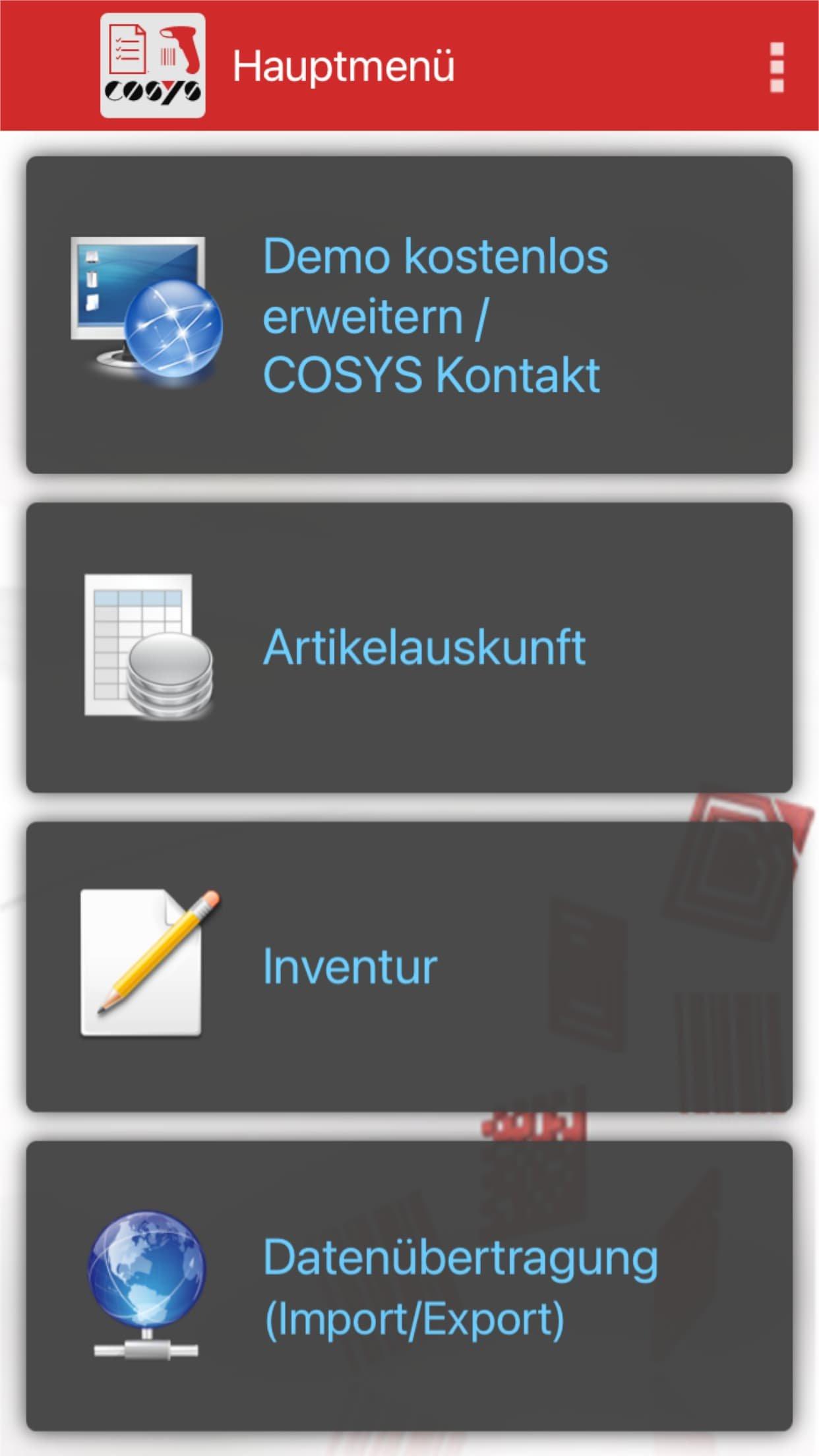 Inventur App iOS