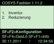 COSYS Inventursoftware Proprietär Bestandteile