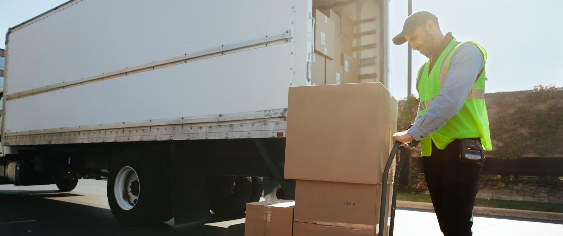Verlade- und Ablieferscannung Software Baumarkt und Baufachhandel Branche