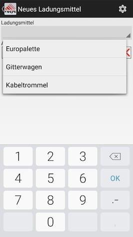Lademittelverwaltung Ablieferscannung Mobile Datenerfassung