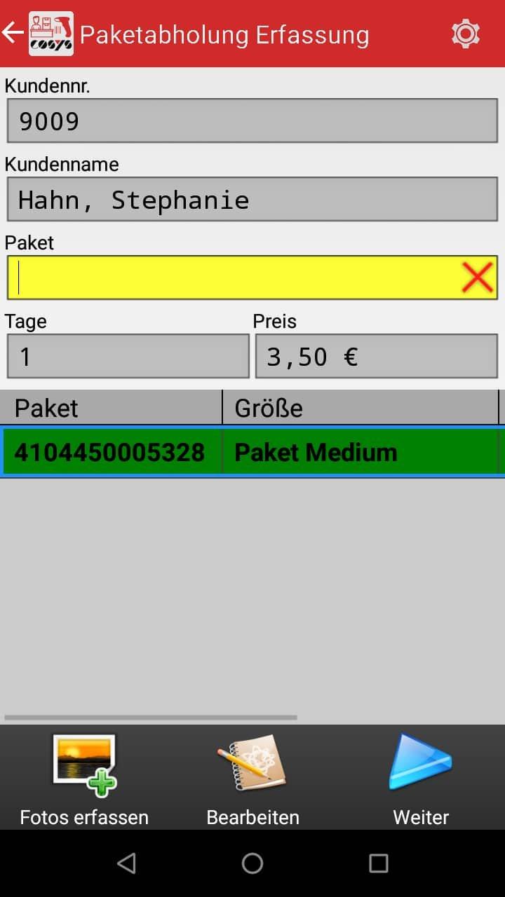 COSYS Paket Management / Paketverwaltung Softwarelösung