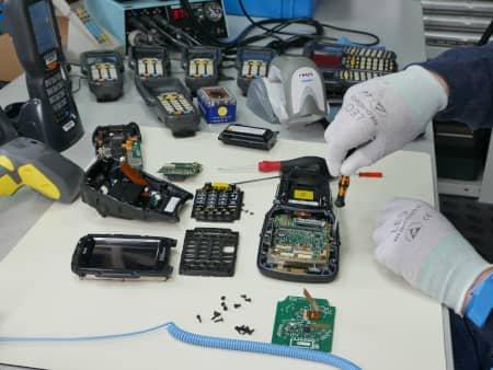 Reparatur in der COSYS