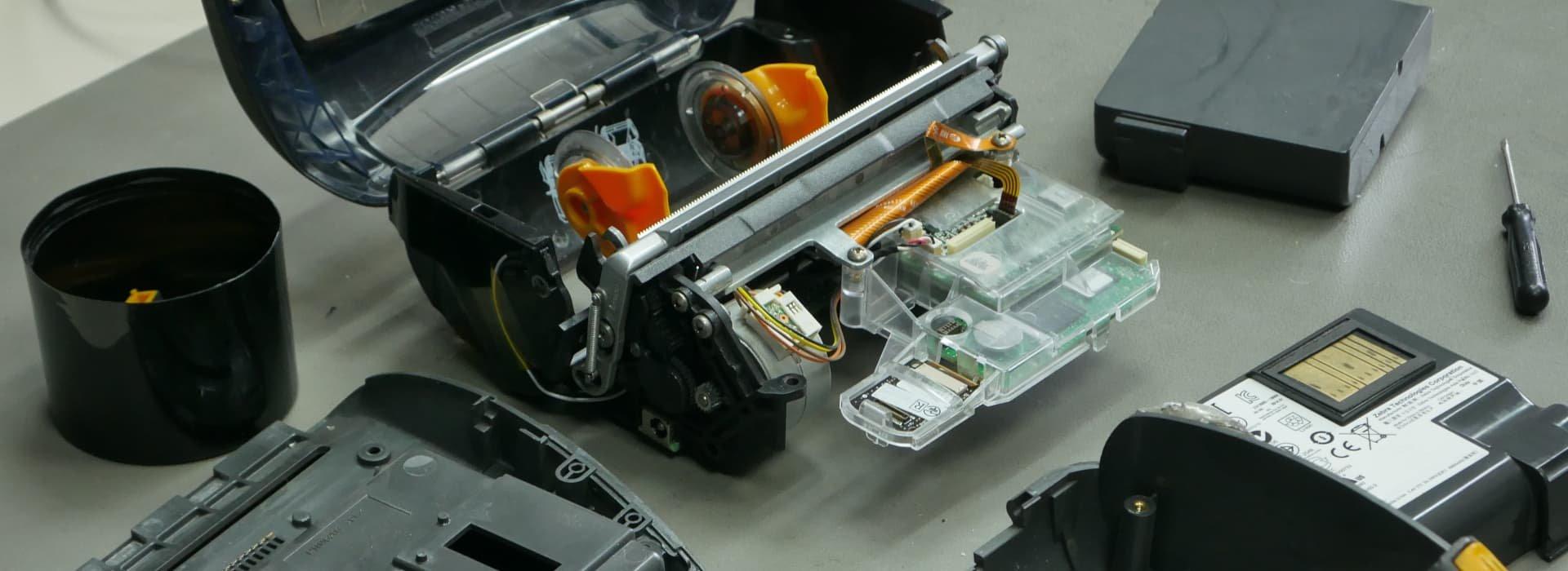 COSYS Etikettendrucker Reparatur
