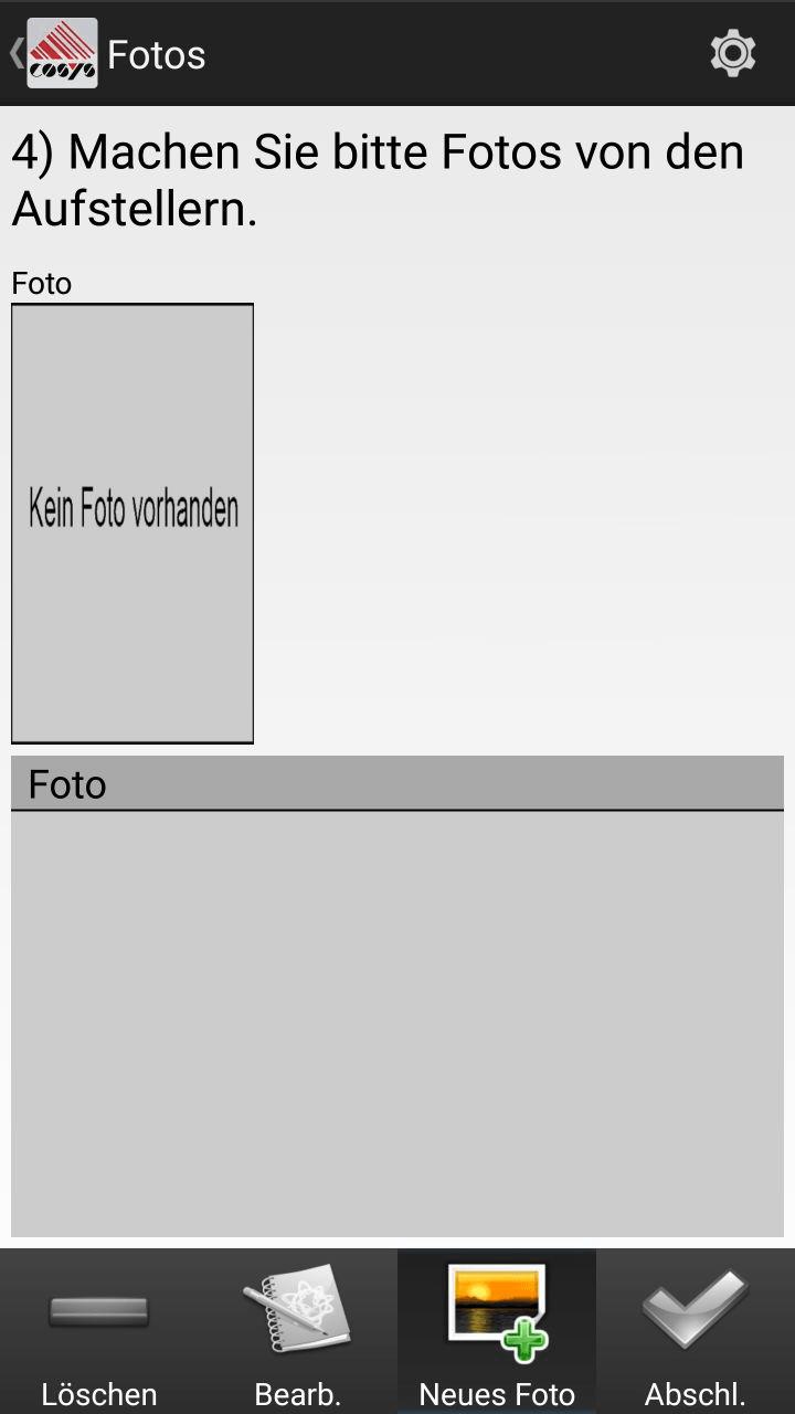 Kommissionierung Artikelübersicht Android Software von COSYS