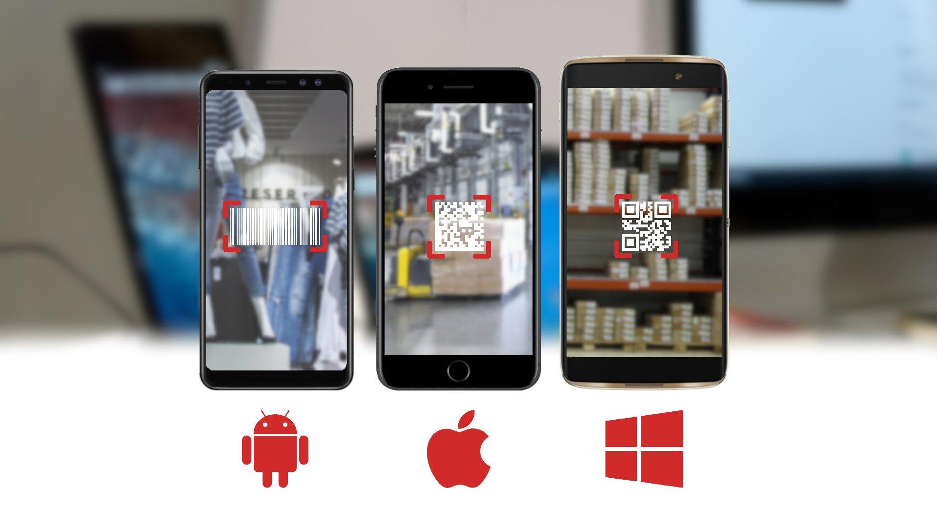 COSYS Inventur App für Smartphones und Tablets