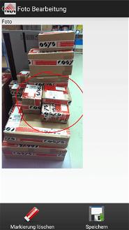 Fotodokumentation und Schadensdokumentation Lager Schraubenhandel / Schraubenhersteller Branche Software