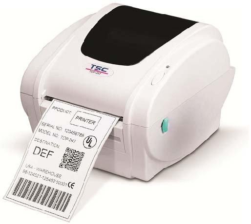 TSC TDP 247 Serie Desktopdrucker