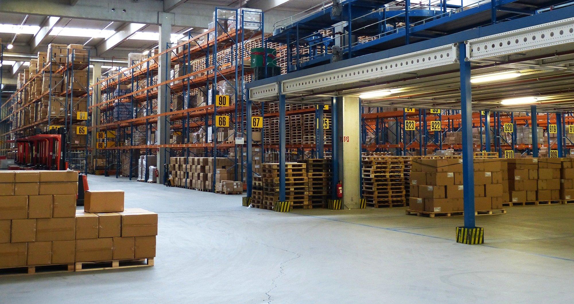 Warehouse Management System Umlagerung