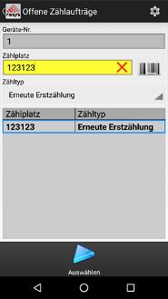 Lagerverwaltungssoftware (LVS) Inventur