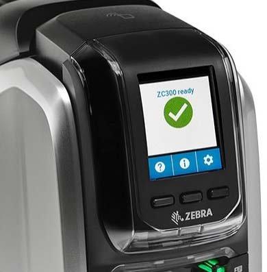 Zebra ZC300 ZC350 Kartendrucker
