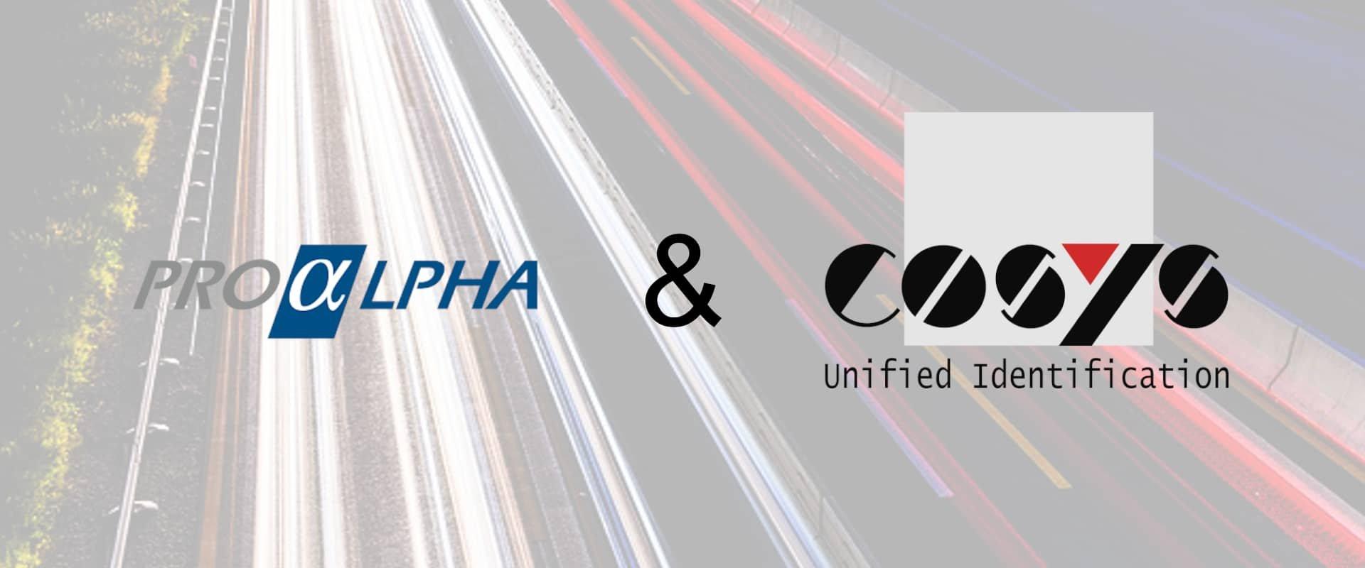 proALPHA zusammen mit COSYS Delivery Software