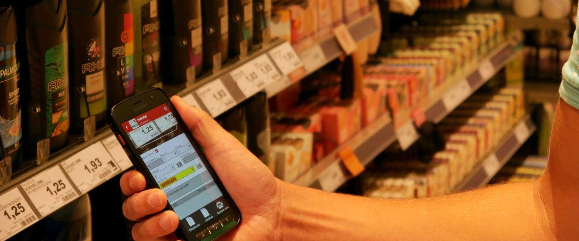 COSYS mobile Software für Smartphones und MDE Geräte
