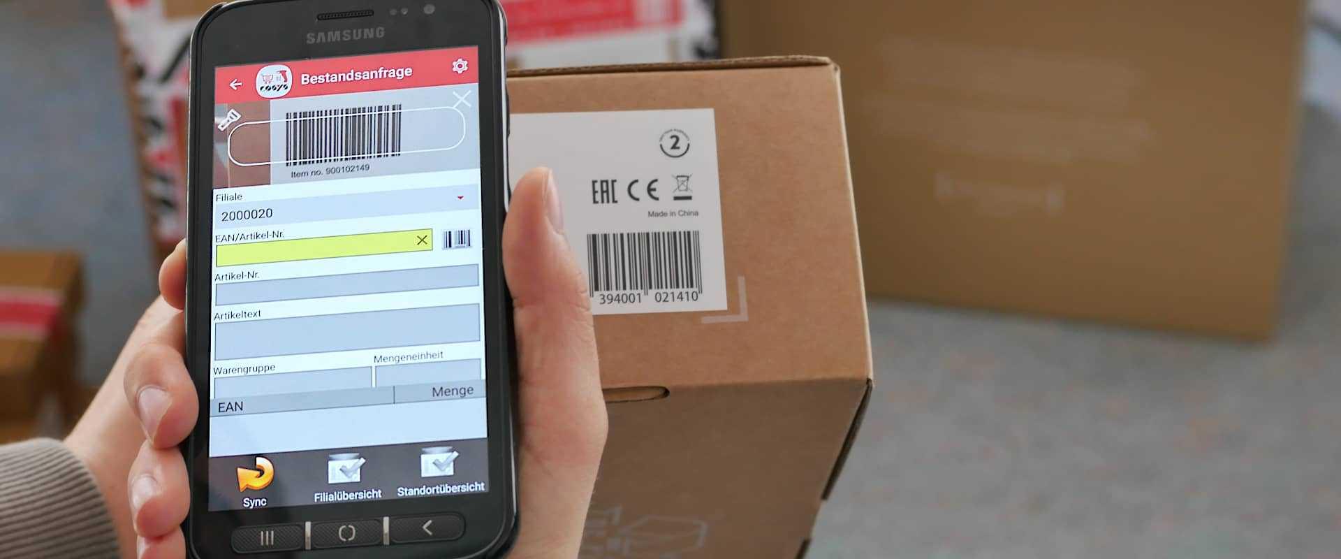 Mobile App für den Gemischtwarenladen