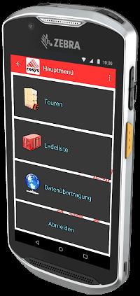 COSYS Fahrer App