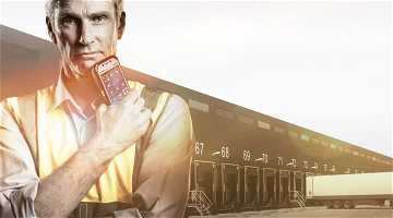 News: Warenausgang Scannung im Elektrogroßhandel