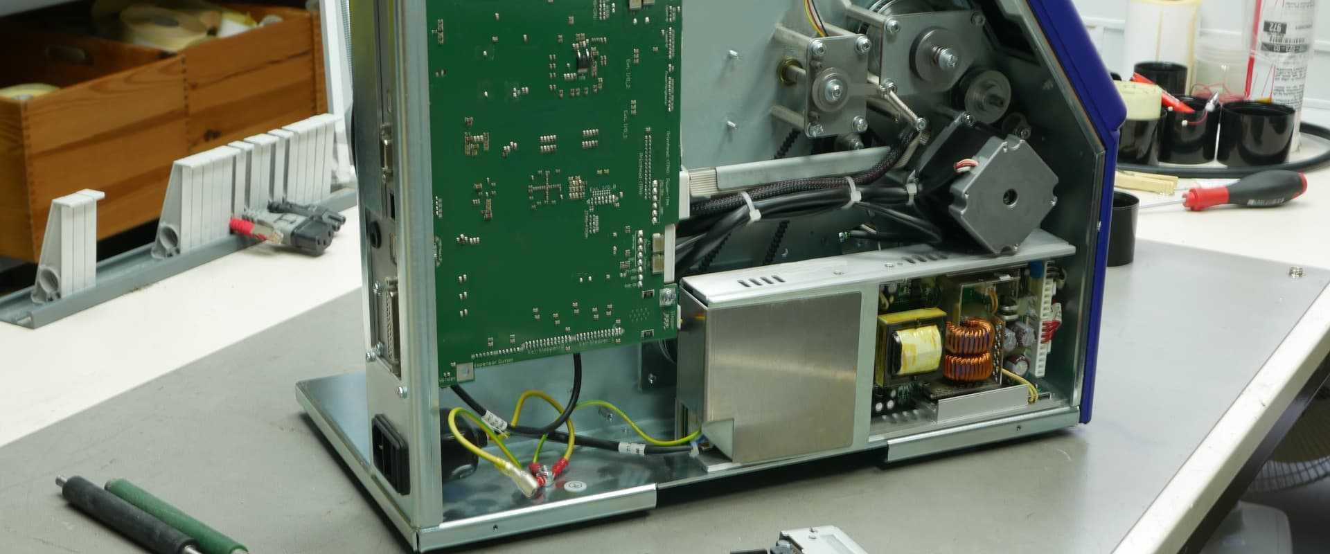 Reparaturservice für Carl Valentin Etikettendrucker