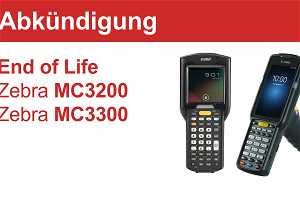 """News: """"End of Life"""" für den Zebra MC3200 und Zebra MC3300"""