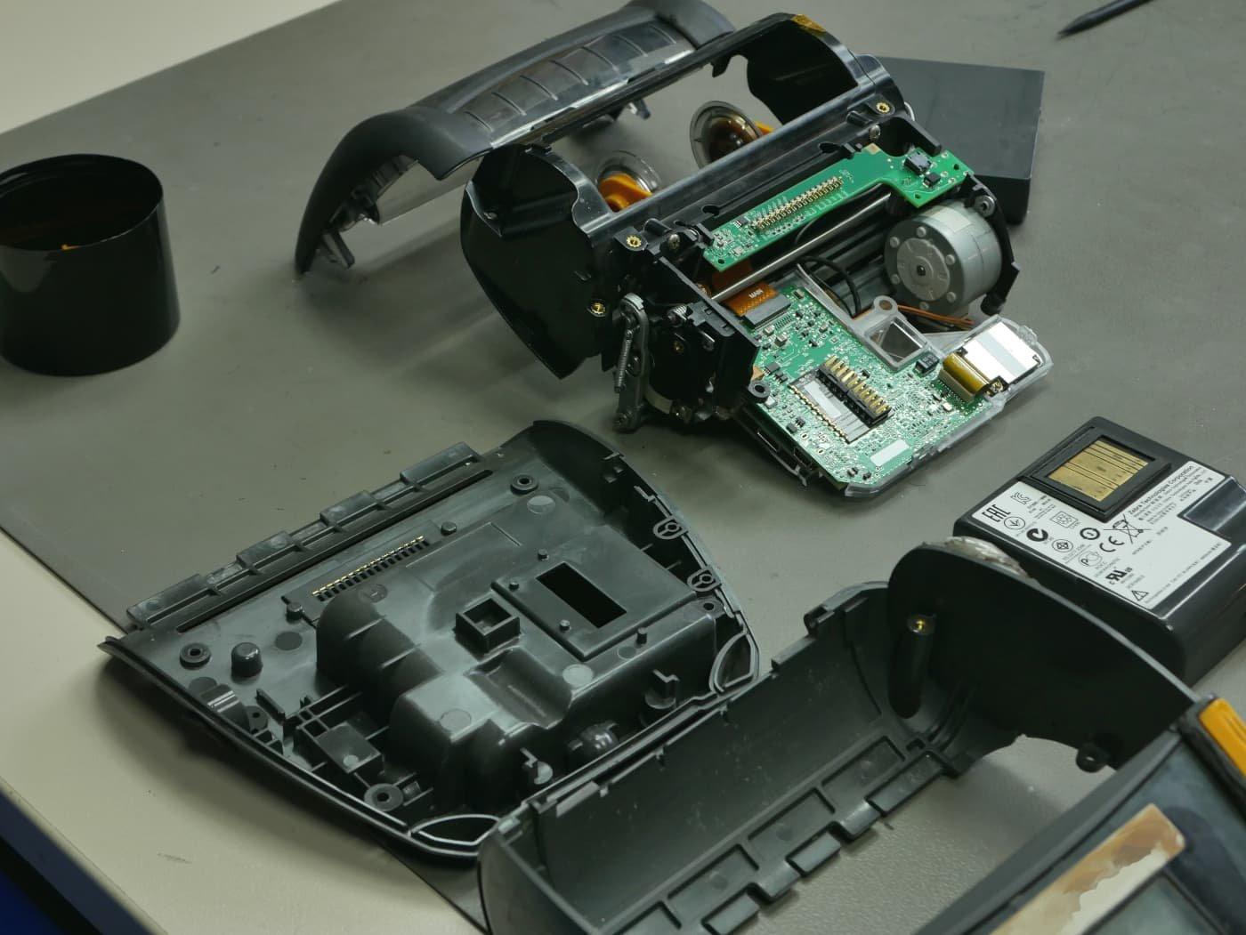COSYS repariert auch mobile Etikettendrucker von Zebra
