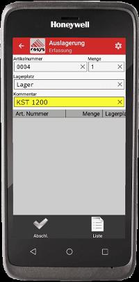 Honeywell EDA 51 mit mobiler App