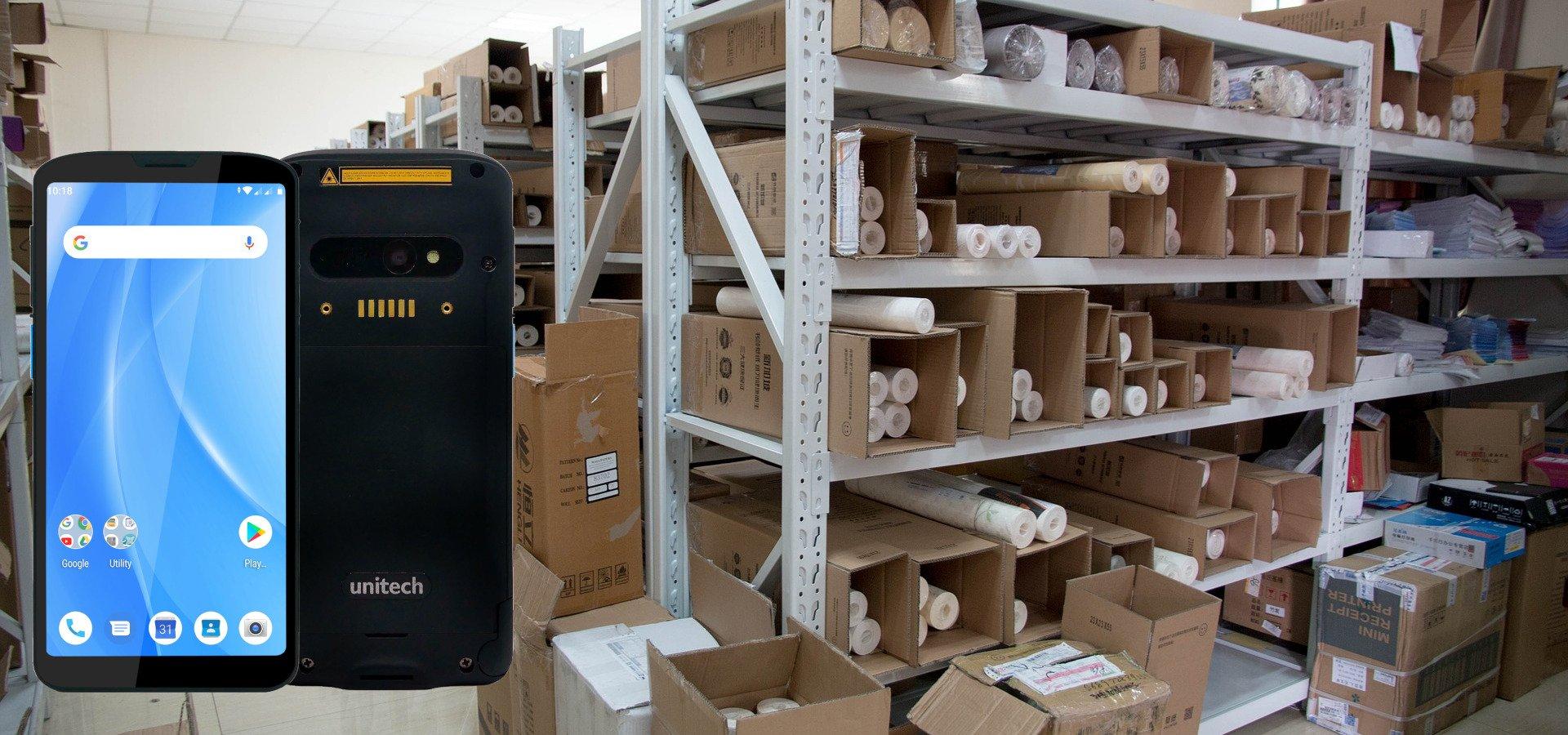 Kostengünstige Lagermodernisierung mit dem Unitech EA630 und COSYS