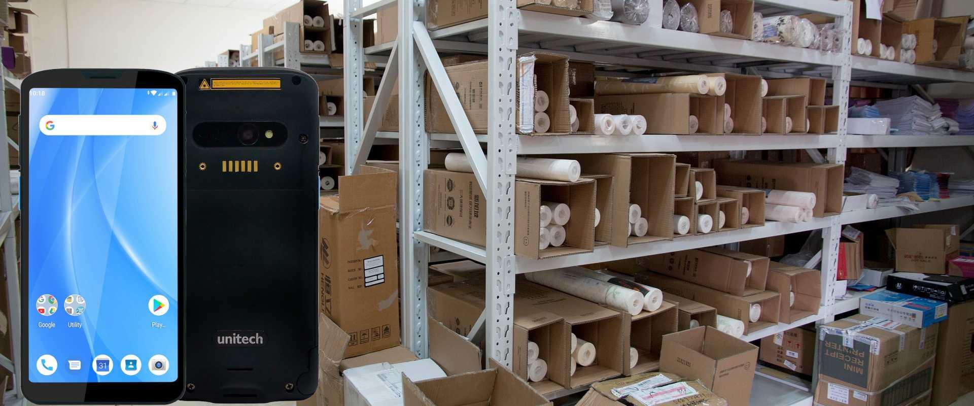 Lagermodernisierung mit dem Unitech EA630