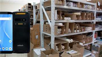 News: Kostengünstige Lagermodernisierung mit dem Unitech EA630 und COSYS