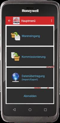 Lager App auf EDA51