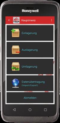 Bestandsmanagement App auf EDA51