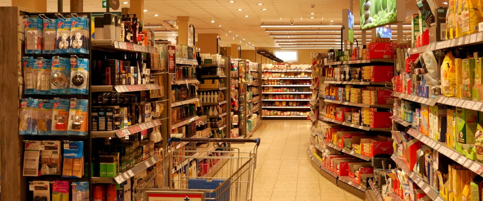 Inventurservice für den Lebensmittelhandel