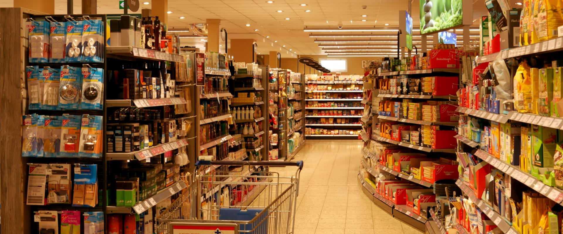 Inventurservice für Supermärkte und Großhandel