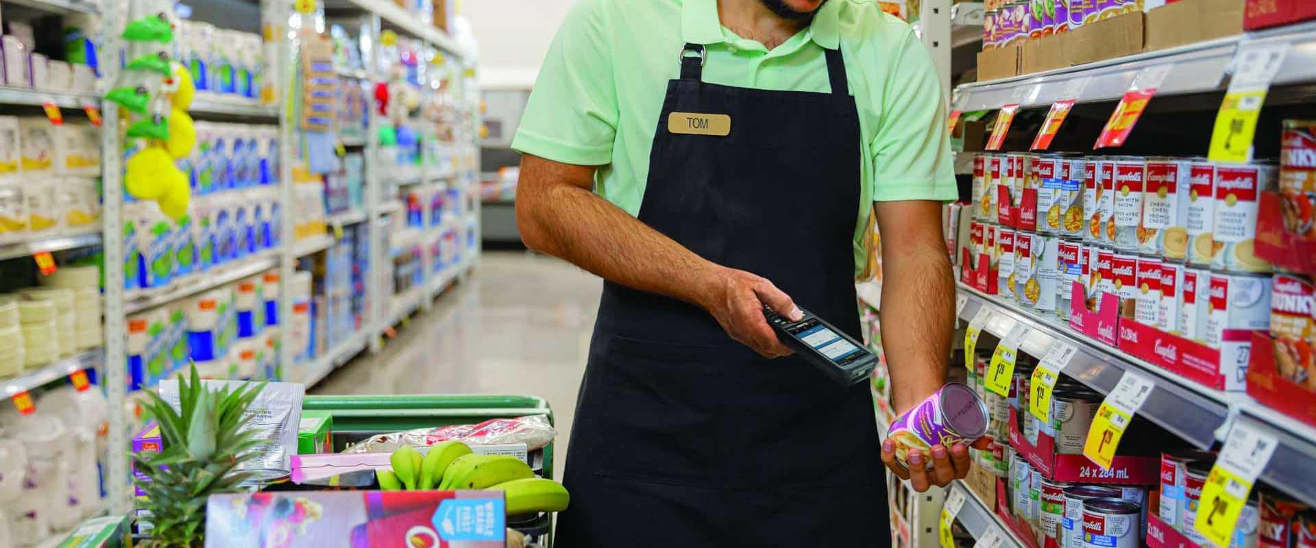 COSYS MDE Geräte und Lagerverwaltungssoftware für den Lebensmittelhandel