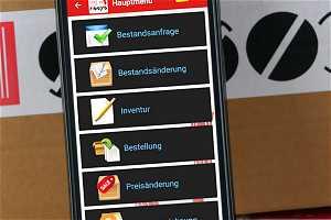 News: Mobile Bestandsanfrage und Bestandkorrektur im LEH Einzelhandel