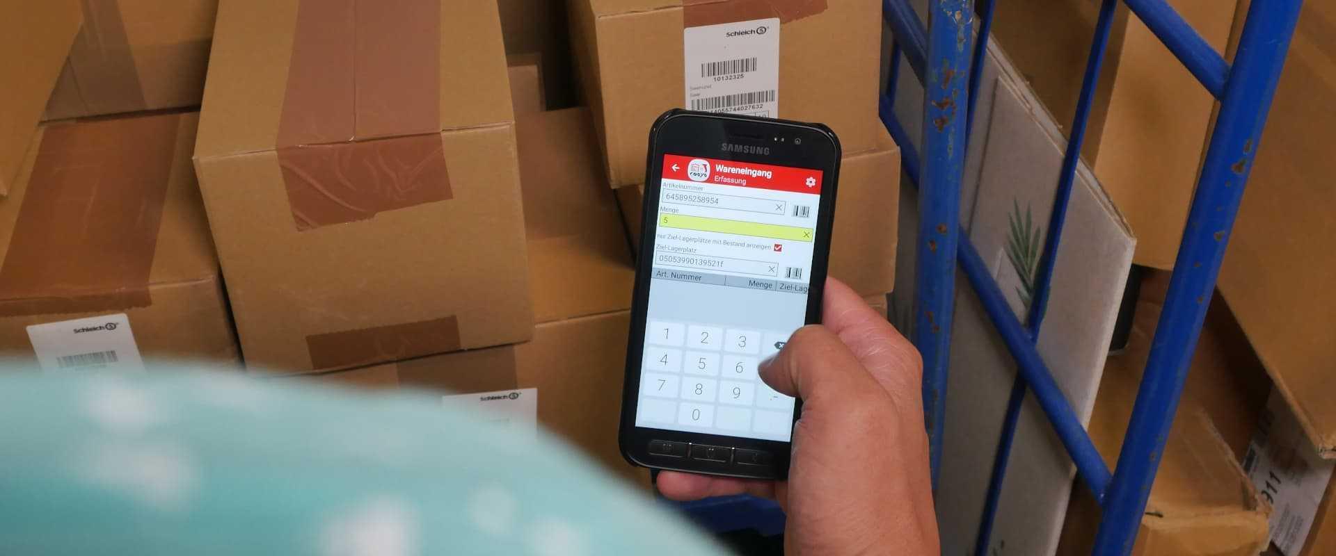 Digitale Lagerverwaltung im Lebensmittelhandel