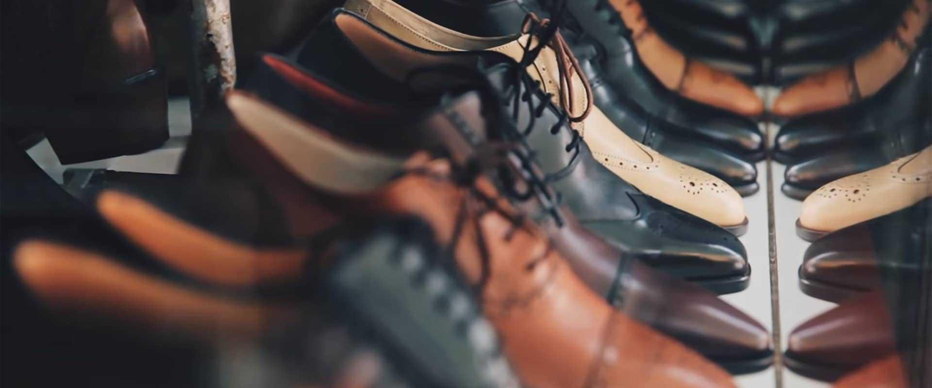 COSYS Smartphone Inventur für Leder-Schuh