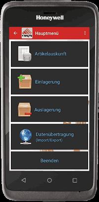 COSYS Bestandsführung App