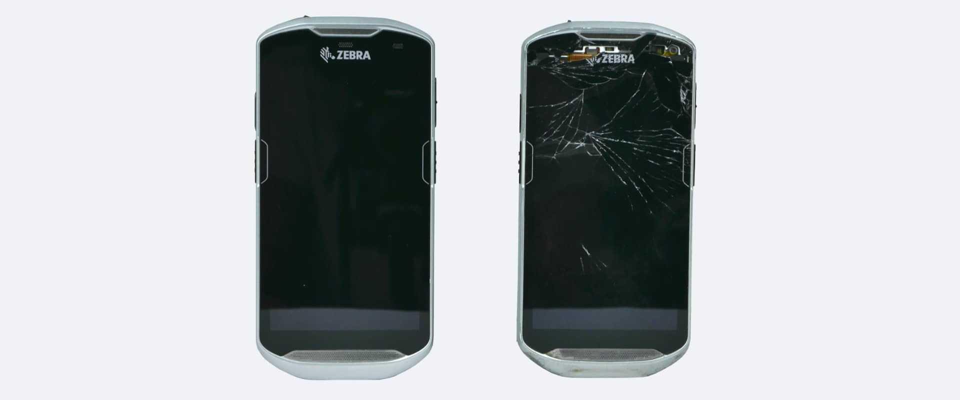 Reparatur von modernen Fulltouch MDE Geräte und Displaytausch