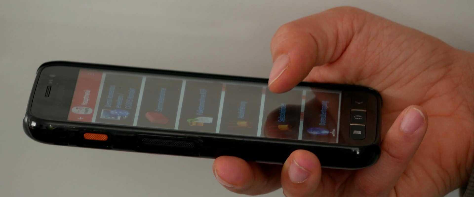 Mobile App für Android und iOS Geräte