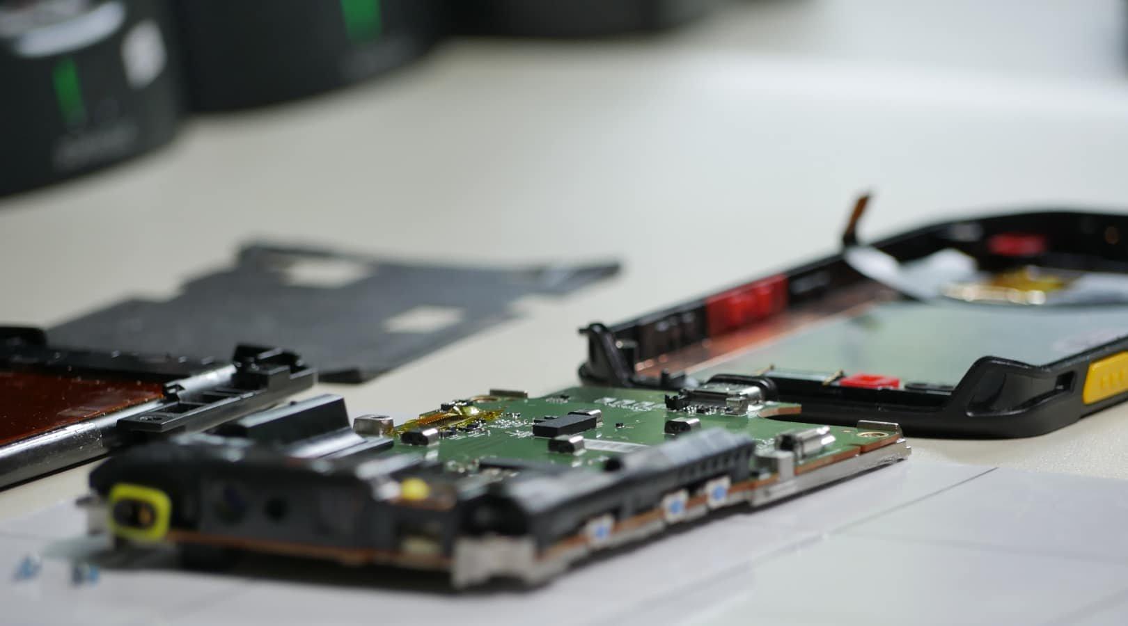 MDE Geräte Reparatur für den SHK Großhandel
