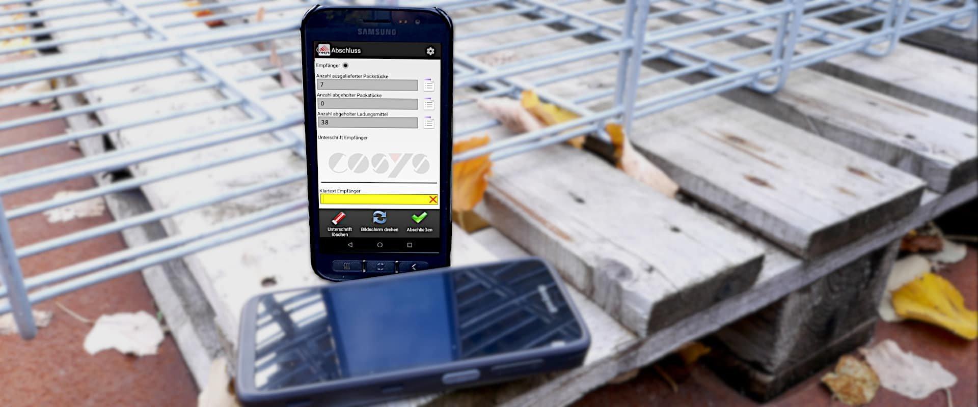 COSYS Transportation Management System bereichert Baustellenbelieferung