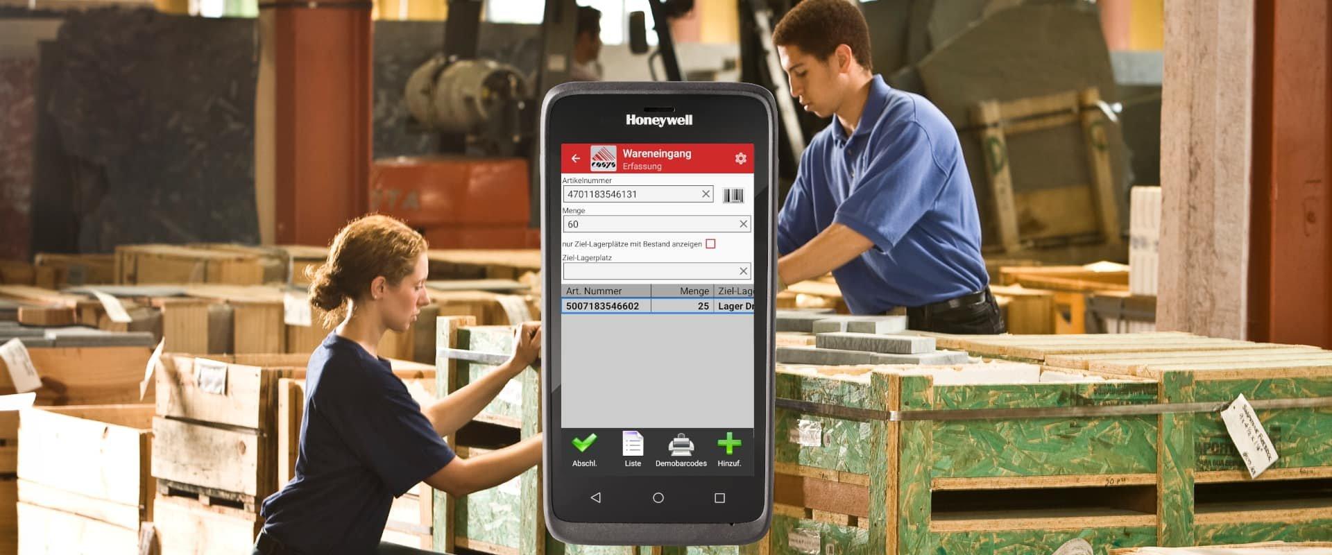 Honeywell ScanPal EDA51 für eine optimale Lagerhaltung im SHK Großhandel